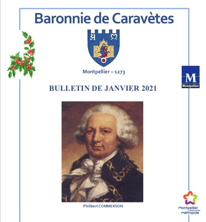 Bulletin Les Barons de Caravètes | Janvier 2021