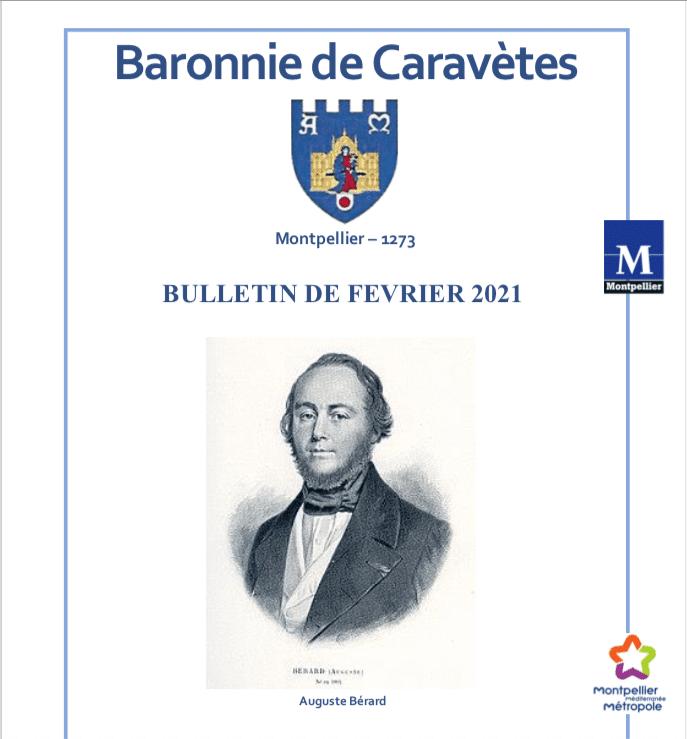 Bulletin Les Barons de Caravètes | Février 2021