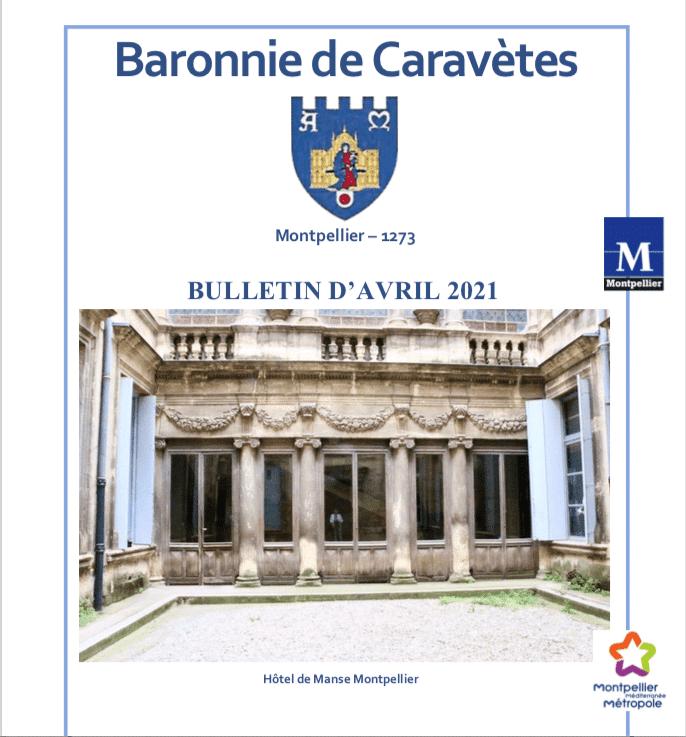 Bulletin Les Barons de Caravètes | Avril 2021