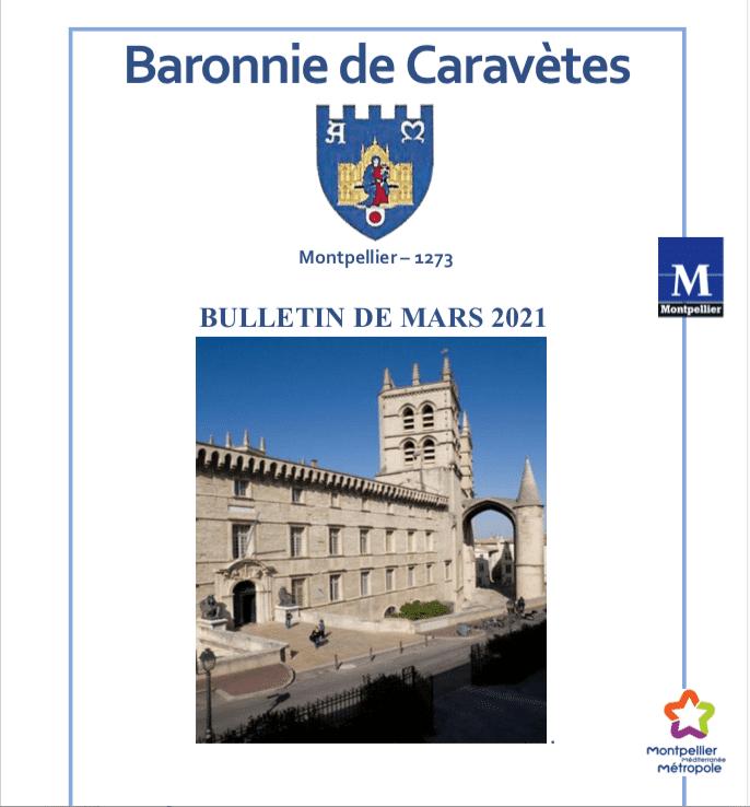 Bulletin Les Barons de Caravètes | Mars 2021
