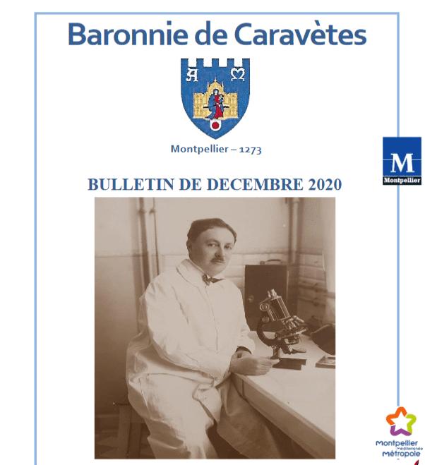 Bulletin Les Barons de Caravètes   Décembre 2020