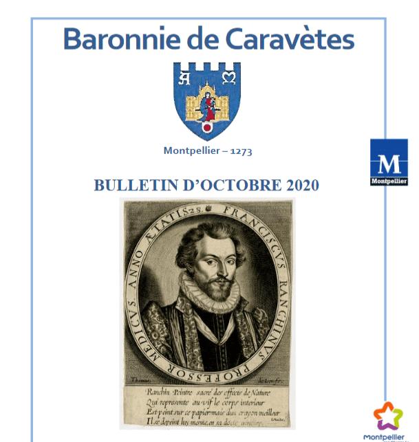 Bulletin Les Barons de Caravètes   Octobre 2020